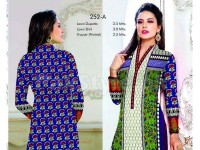 Rashid Classic Lawn with Lawn Dupatta 252-A in Pakistan