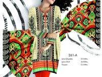 Rashid Classic Lawn with Lawn Dupatta D-261 in Pakistan