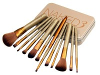 12 Pieces Urban Decay Naked3 Power Brush Set in Pakistan
