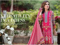 MTF Embroidered Lawn with Chiffon Dupatta 17-A in Pakistan