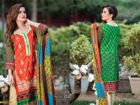 MTF Embroidered Lawn with Chiffon Dupatta 15-B in Pakistan