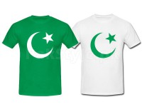 Pack of 2 Pakistani Flag T-Shirts in Pakistan