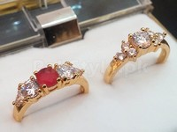 Pack of 2 CZ Fashion Rings in Pakistan