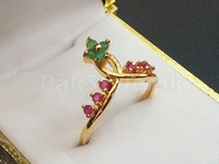 Crown Shape Ring + 1 Free Ring in Pakistan