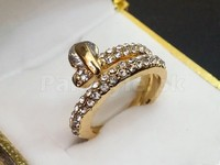 Elegant Gold Plated Ring in Pakistan