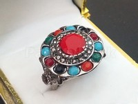 Antique Multicolor Stone Ring in Pakistan