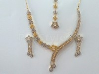Indian AD Jewellery Set in Pakistan