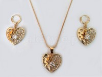 Heart Shape Jewellery Set in Pakistan