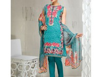Embroidered Lawn Suit in Pakistan