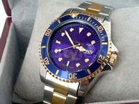 Submariner Two Tone Blue Watch in Pakistan