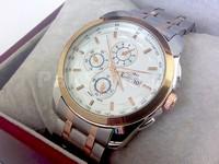 Elegant Men's Two Tone Watch in Pakistan