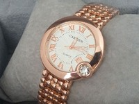 Cartier Ladies Watch Golden in Pakistan