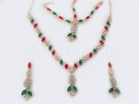 Rose Pink Fashion Jewellery Set in Pakistan
