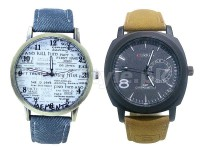 Pack of 2 Men's Watches in Pakistan