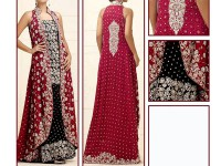 Embroidered Designer Chiffon Suit in Pakistan
