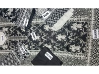 Cambric Cotton Suit Black in Pakistan