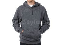 Plain Pullover Hoodie Charcoal in Pakistan