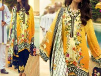 Designer Embroidered Silk Suit in Pakistan