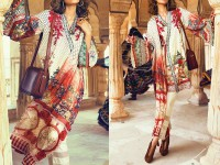 Designer Embroidered Linen Suit in Pakistan