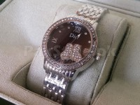 Dior Ladies Butterfly Watch - Silver in Pakistan