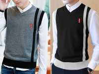 2 Men's Sleeveless Sweaters in Pakistan