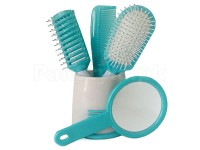 Hair Brush Set with Holder in Pakistan