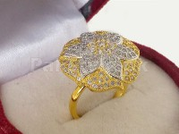 Elegant AD Flower Ring in Pakistan