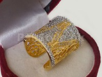Elegant Cubic Zirconia Ring in Pakistan