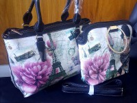 Digital Print Handbags Set in Pakistan