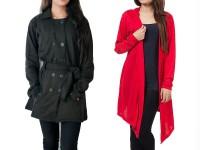 Ladies Coat & Shrug Combo Deal in Pakistan