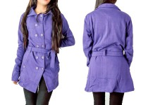 Ladies Winter Coat - Purple in Pakistan