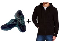 Men's Hoodie & Shoes Combo Pack in Pakistan