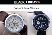 2 Casio Watches Black Friday Deal in Pakistan