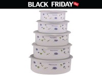 Set of 5 Food Containers Black Friday Deal in Pakistan