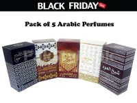 Pack of 5 Arabic Perfumes Black Friday Deal in Pakistan