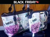 Digital Print Handbags Set Black Friday Deal in Pakistan