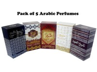 Pack of 5 Arabic Perfumes in Pakistan