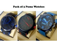 Pack of 3 Puma Boys Watches in Pakistan