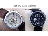 2 Casio Watches Bundle Pack in Pakistan