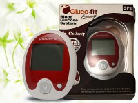 Gluco-Fit Blood Glucose Monitor + 10 Strips in Pakistan