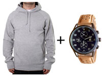 Hoodie & Watch Combo Pack in Pakistan