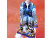 Digital Printed Stitched Kurti D-04 in Pakistan