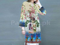 Digital Printed Stitched Kurti D-06 in Pakistan