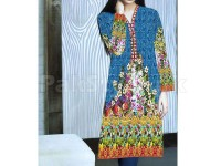 Digital Printed Stitched Kurti D-07 in Pakistan