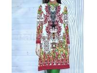 Digital Printed Stitched Kurti D-08 in Pakistan