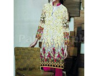 Digital Printed Stitched Kurti D-10