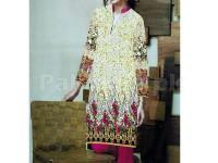 Digital Printed Stitched Kurti D-10 in Pakistan