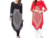 Pack of 2 Womens Cowl Neck Tops in Pakistan