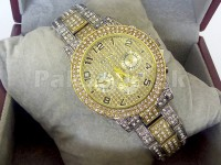 Rolex Winner 24 Watch | 2 Tone Golden in Pakistan