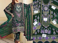 Embroidered Chiffon Suit with Chiffon Dupatta in Pakistan